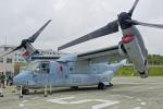ちゃぽんさんが、キャンプ富士で撮影したアメリカ海兵隊 MV-22Bの航空フォト(写真)