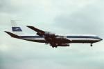 tassさんが、ロンドン・ヒースロー空港で撮影したクウェート航空 707-331Cの航空フォト(飛行機 写真・画像)