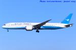 いおりさんが、成田国際空港で撮影した厦門航空 787-9の航空フォト(写真)