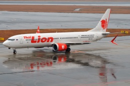 amagoさんが、中部国際空港で撮影したタイ・ライオン・エア 737-9-MAXの航空フォト(飛行機 写真・画像)