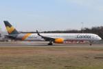 BTYUTAさんが、フランクフルト国際空港で撮影したコンドル 757-330の航空フォト(写真)