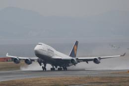 ツンさんが、関西国際空港で撮影したルフトハンザドイツ航空 747-430の航空フォト(飛行機 写真・画像)