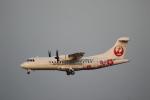 ツンさんが、鹿児島空港で撮影した日本エアコミューター ATR-42-600の航空フォト(写真)