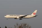 ツンさんが、鹿児島空港で撮影した日本航空 767-346の航空フォト(写真)
