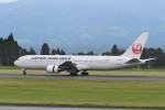 kuro2059さんが、鹿児島空港で撮影した日本航空 767-346の航空フォト(写真)