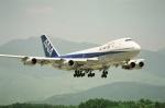 k-spotterさんが、熊本空港で撮影した全日空 747SR-81の航空フォト(写真)