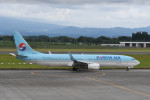 kuro2059さんが、鹿児島空港で撮影した大韓航空 737-9B5/ER の航空フォト(飛行機 写真・画像)
