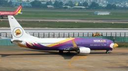 westtowerさんが、タンソンニャット国際空港で撮影したノックエア 737-8ASの航空フォト(飛行機 写真・画像)