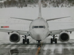 kumagorouさんが、青森空港で撮影した日本航空 737-846の航空フォト(飛行機 写真・画像)