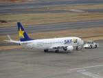 KAZFLYERさんが、羽田空港で撮影したスカイマーク 737-8HXの航空フォト(写真)
