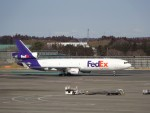 KAZFLYERさんが、成田国際空港で撮影したフェデックス・エクスプレス MD-11Fの航空フォト(飛行機 写真・画像)