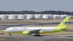 パンダさんが、成田国際空港で撮影したジンエアー 777-2B5/ERの航空フォト(飛行機 写真・画像)