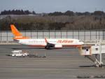 KAZFLYERさんが、成田国際空港で撮影したチェジュ航空 737-8ASの航空フォト(写真)