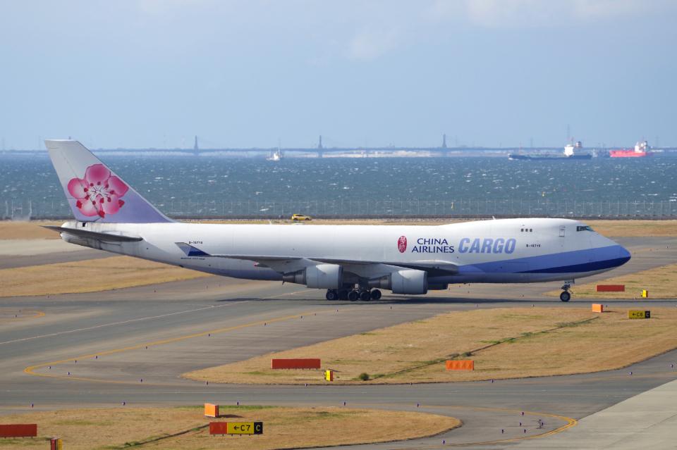 yabyanさんのチャイナエアライン Boeing 747-400 (B-18710) 航空フォト