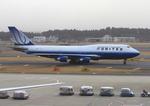 ふじいあきらさんが、成田国際空港で撮影したユナイテッド航空 747-422の航空フォト(写真)