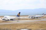 水月さんが、関西国際空港で撮影したルフトハンザドイツ航空 747-430の航空フォト(写真)