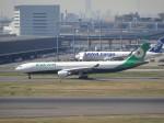 KAZFLYERさんが、羽田空港で撮影したエバー航空 A330-302の航空フォト(写真)
