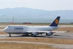 マサヒロさんが、関西国際空港で撮影したルフトハンザドイツ航空 747-430の航空フォト(写真)