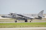 ちゃぽんさんが、岩国空港で撮影したアメリカ海兵隊 AV-8B(R) Harrier II+の航空フォト(飛行機 写真・画像)