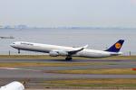 szkkjさんが、羽田空港で撮影したルフトハンザドイツ航空 A340-642の航空フォト(写真)