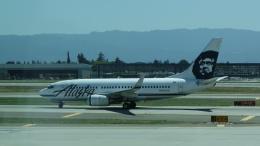 AE31Xさんが、ノーマン・Y・ミネタ・サンノゼ国際空港で撮影したアラスカ航空 737-790の航空フォト(飛行機 写真・画像)