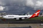 garrettさんが、シドニー国際空港で撮影したカンタス航空 747-438の航空フォト(写真)