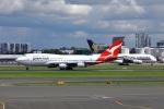 garrettさんが、シドニー国際空港で撮影したカンタス航空 747-438の航空フォト(飛行機 写真・画像)