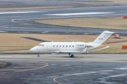 Y-Kenzoさんが、成田国際空港で撮影したロンドン・エア・サービス Challenger 600の航空フォト(飛行機 写真・画像)