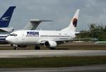 VQ-BELさんが、オーパ・ロッカ空港で撮影したマグニチャーターズ 737-322の航空フォト(写真)