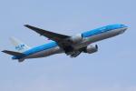 AkilaYさんが、成田国際空港で撮影したKLMオランダ航空 777-206/ERの航空フォト(写真)