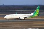 ゆなりあさんが、新千歳空港で撮影した春秋航空日本 737-86Nの航空フォト(写真)
