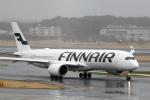 maverickさんが、成田国際空港で撮影したフィンエアー A350-941XWBの航空フォト(写真)