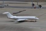 ハム太郎。さんが、羽田空港で撮影したウェルズ・ファーゴ・バンク・ノースウェスト BD-700 Global Express/5000/6000の航空フォト(写真)