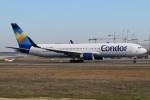 BTYUTAさんが、フランクフルト国際空港で撮影したコンドル 767-330/ERの航空フォト(写真)