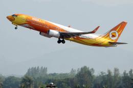 planetさんが、プーケット国際空港で撮影したノックエア 737-88Lの航空フォト(飛行機 写真・画像)