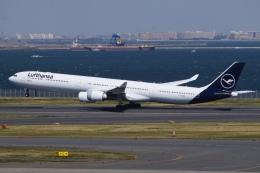 航空フォト:D-AIHI ルフトハンザドイツ航空 A340-600