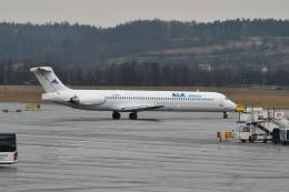 KAGURA-747さんが、ヨハネパウロ2世・クラクフ・バリツェ国際空港で撮影したALKエアラインズ MD-82 (DC-9-82)の航空フォト(飛行機 写真・画像)