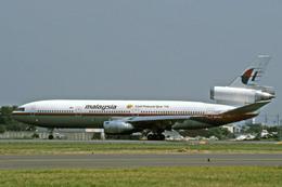 Gambardierさんが、名古屋飛行場で撮影したマレーシア航空 DC-10-30の航空フォト(飛行機 写真・画像)