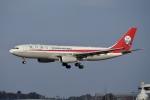 飛行機ゆうちゃんさんが、成田国際空港で撮影した四川航空 A330-243の航空フォト(写真)