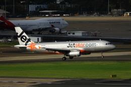 garrettさんが、シドニー国際空港で撮影したジェットスター A320-232の航空フォト(飛行機 写真・画像)