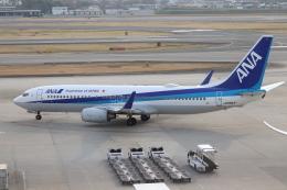 代打の切札さんが、伊丹空港で撮影した全日空 737-881の航空フォト(写真)