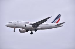 航空フォト:F-GRXA エールフランス航空 A319