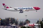 planetさんが、プーケット国際空港で撮影したエーデルワイス航空 A340-313Xの航空フォト(写真)