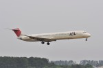 kumagorouさんが、仙台空港で撮影したJALエクスプレス MD-81 (DC-9-81)の航空フォト(飛行機 写真・画像)