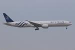 ぽんさんが、香港国際空港で撮影したエールフランス航空 777-328/ERの航空フォト(写真)