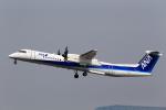 T.Sazenさんが、伊丹空港で撮影したANAウイングス DHC-8-402Q Dash 8の航空フォト(写真)