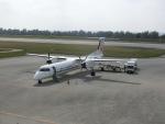 ヒロリンさんが、南大東空港で撮影した琉球エアーコミューター DHC-8-402Q Dash 8 Combiの航空フォト(写真)