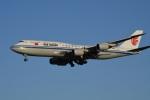 たっしーさんが、北京首都国際空港で撮影した中国国際航空 747-89Lの航空フォト(写真)