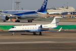 たまさんが、羽田空港で撮影したAbbott Laboratories Inc G-IV-X Gulfstream G450の航空フォト(写真)