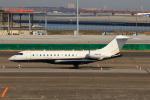 たまさんが、羽田空港で撮影したGEX LEASING CORP BD-700-1A10 Global 6000の航空フォト(写真)